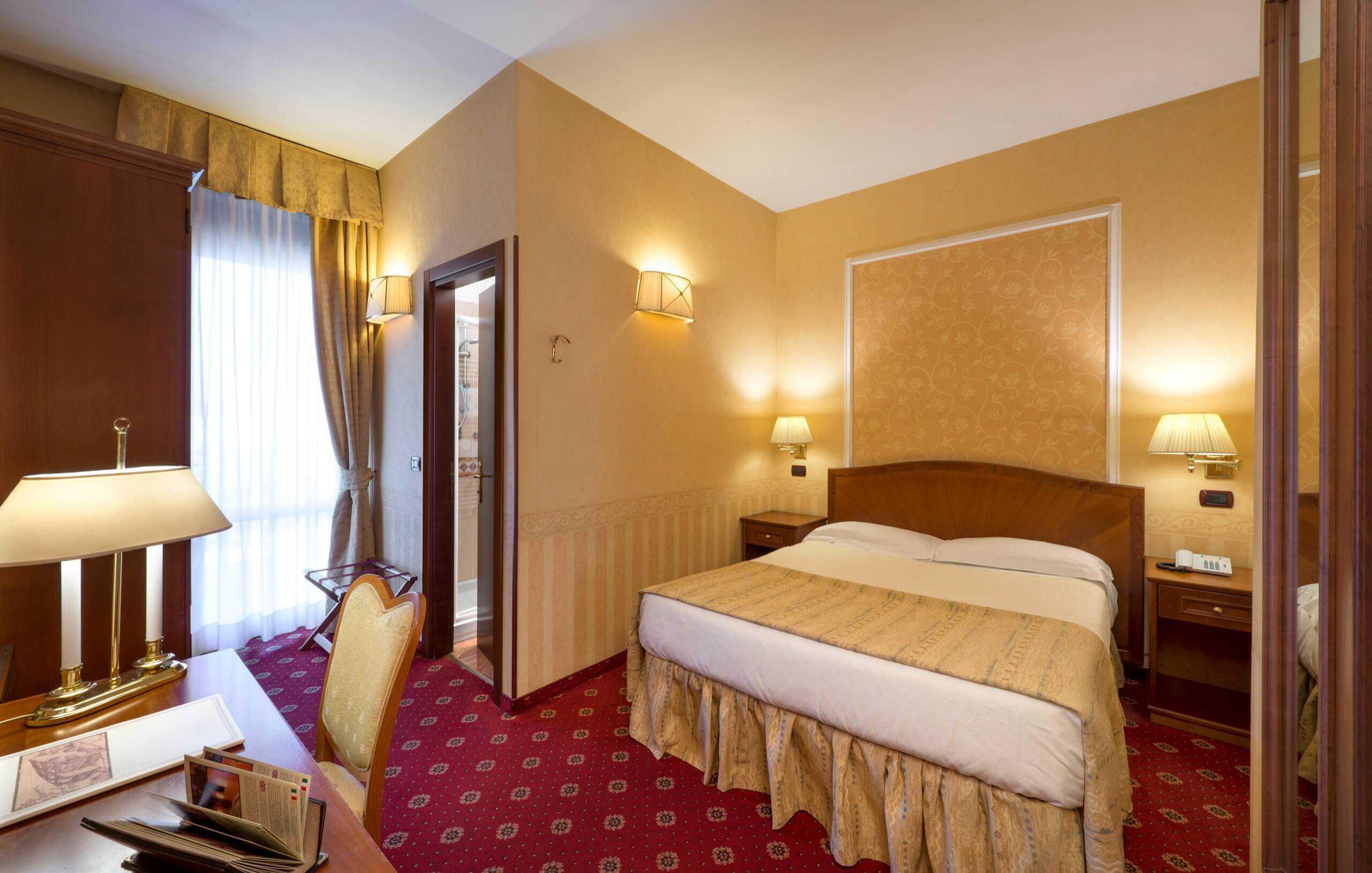 Camera doppia classic hotel 3 stelle a milano lancaster - Hotel con camere a tema milano ...