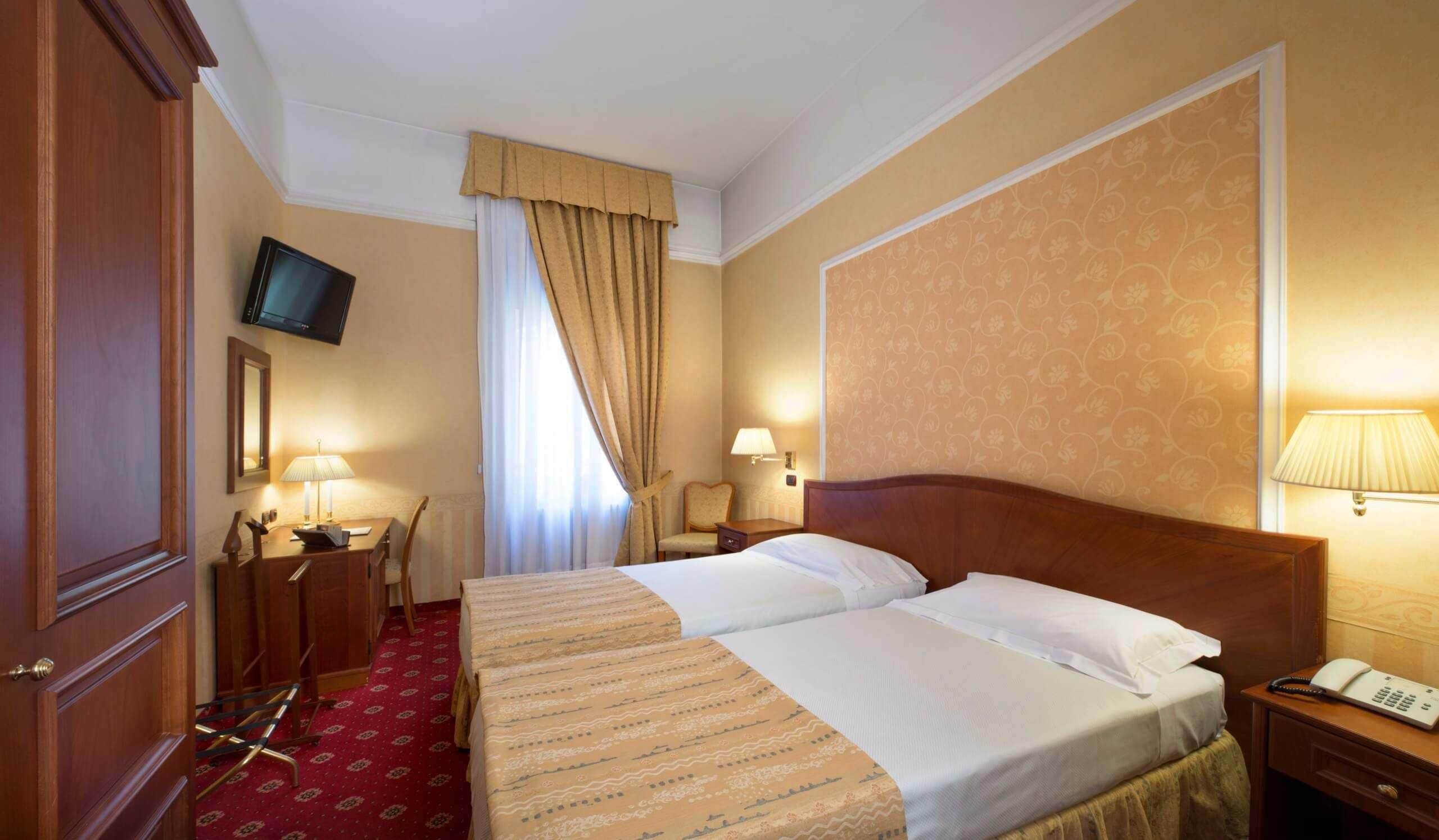 camera doppia classic hotel 3 stelle a milano lancaster