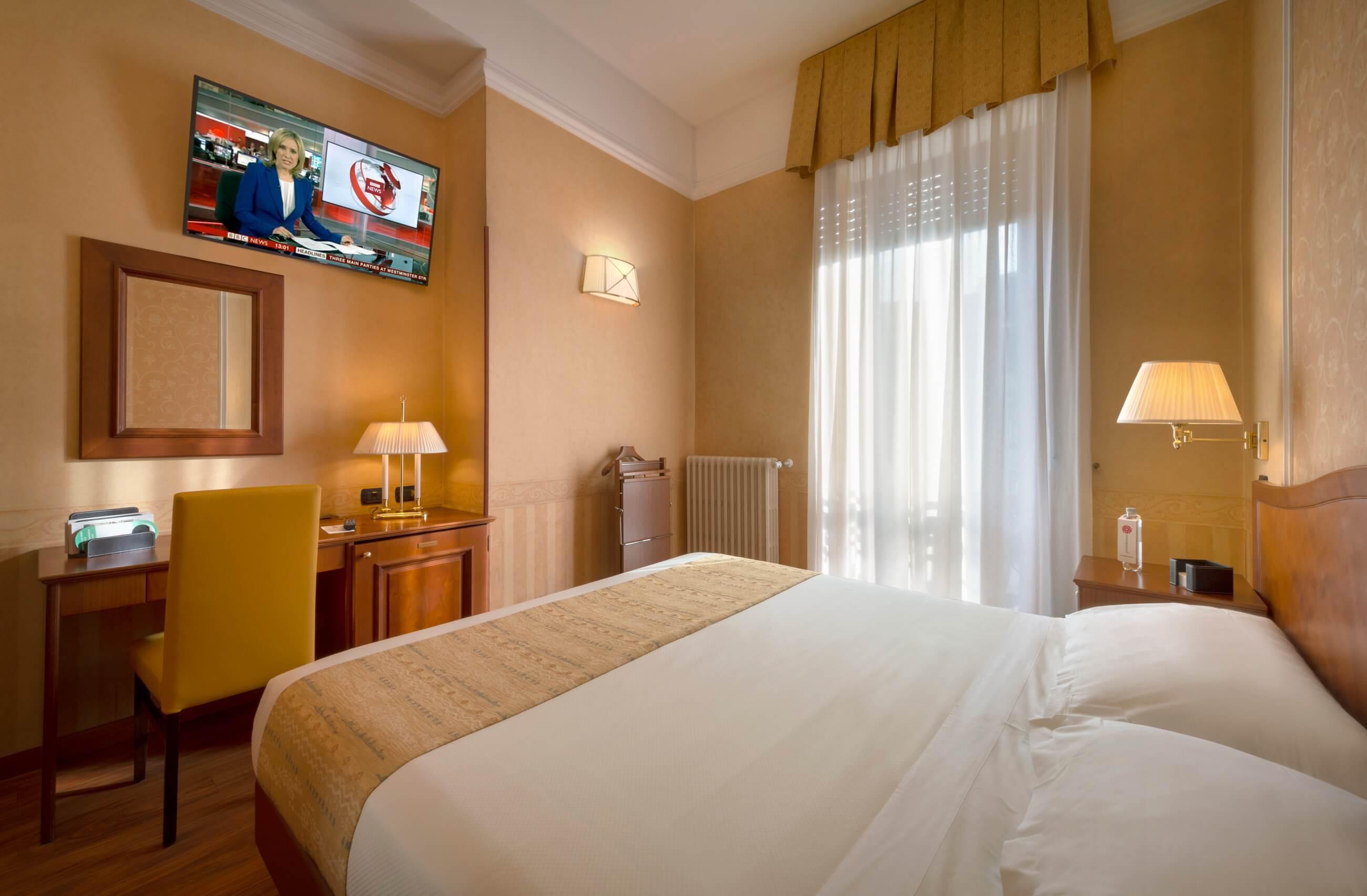 Camere Da Letto Milano.Camera Doppia Classic Hotel 3 Stelle A Milano Lancaster Hotel