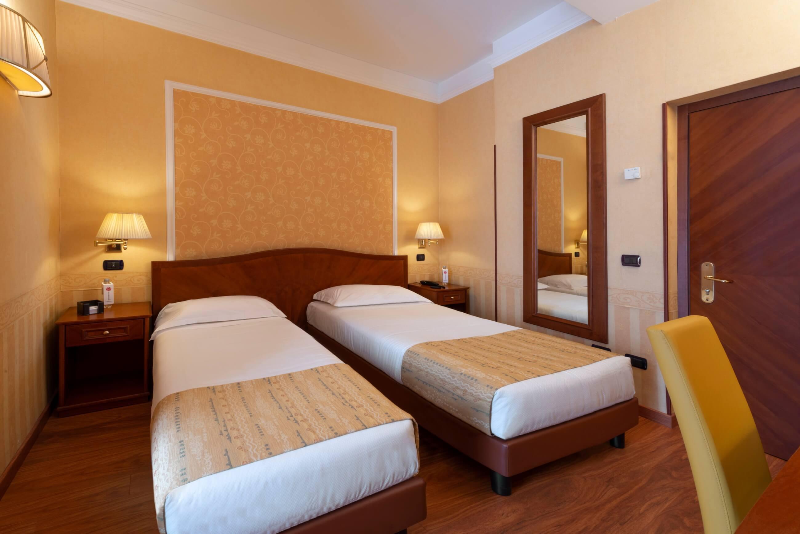 Camera Doppia Classic Hotel 3 Stelle A Milano Lancaster Hotel