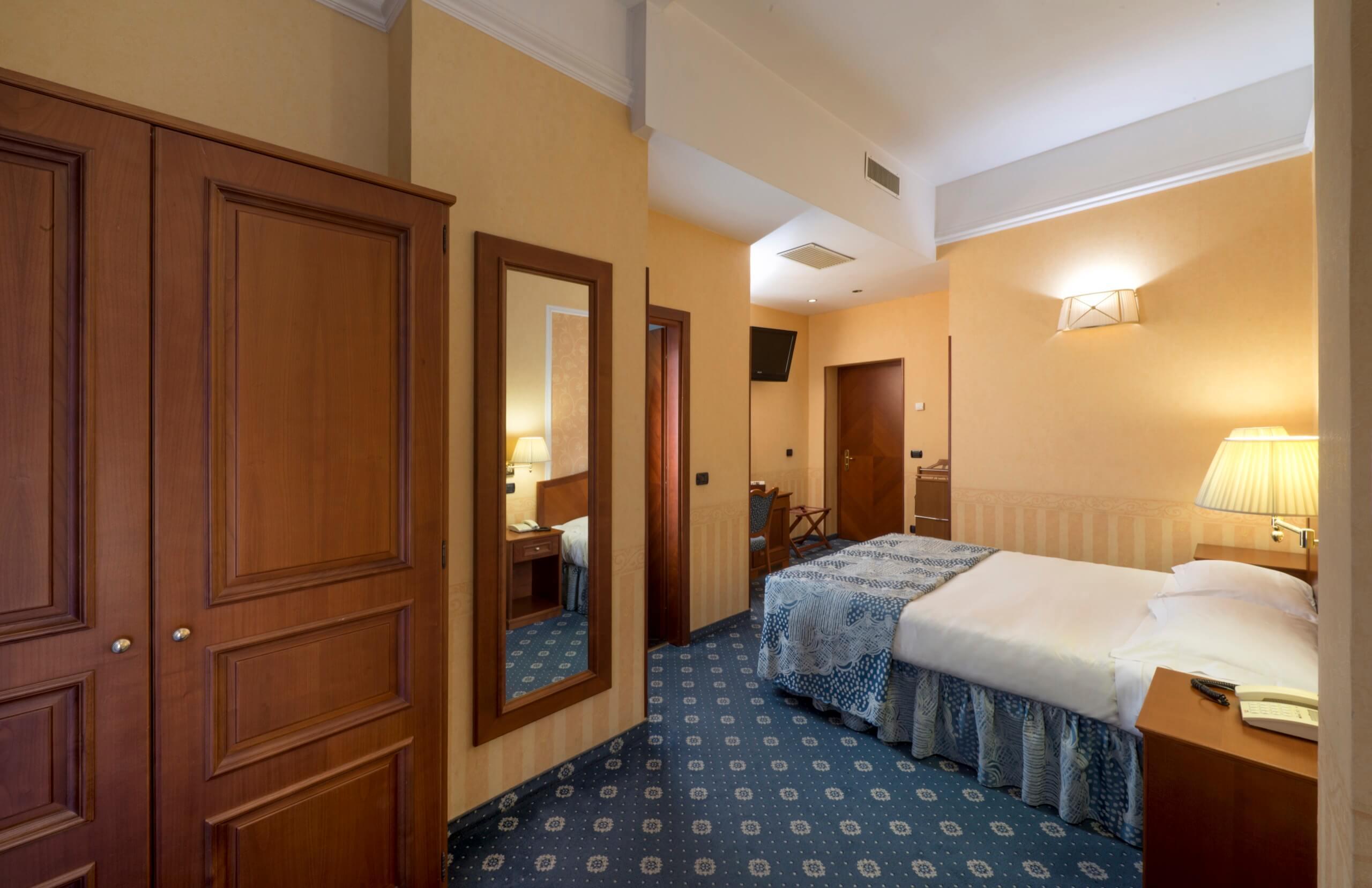 Camera doppia superior hotel 3 stelle a milano lancaster - Hotel con camere a tema milano ...