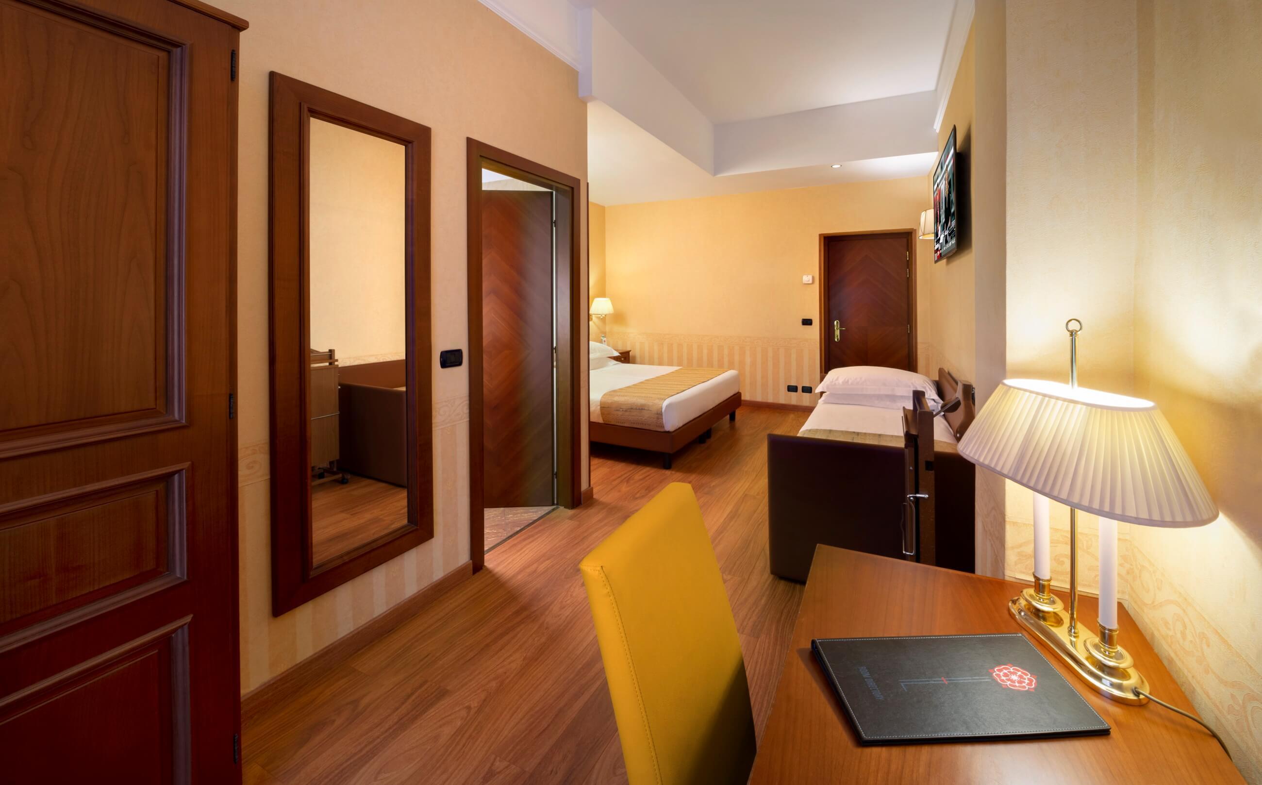 Camera Tripla, Hotel 3 Stelle a Milano | Lancaster Hotel